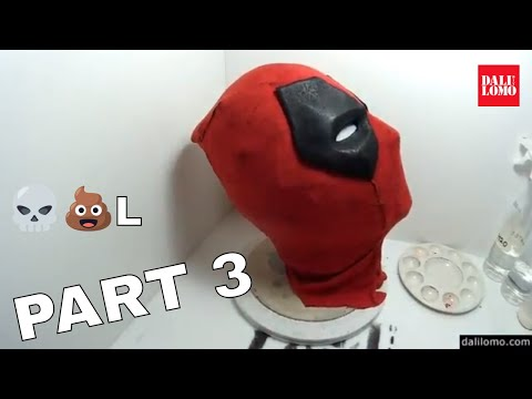 Make Deadpool Movie Mask Part 3 - End | How To