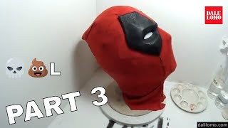 Make Deadpool Movie Mask Part 3 - End #1816 How to