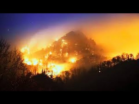 Tennessee Wildfires Evacuation Gatlinburg - Chalet Village Fire Tennessee