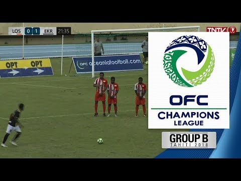 2018 OFC CHAMPIONS LEAGUE  Group B  AS Lossi v Erakor Golden Star Highlights