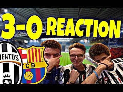 Juve Barcellona 3 0 La Reazione Dei Tifosi Del Web Doovi