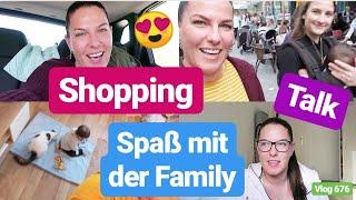 Shopping Eskalation! l Family Besuch in Nürnberg mit Lias l Es ist traurig! l Vlog 676