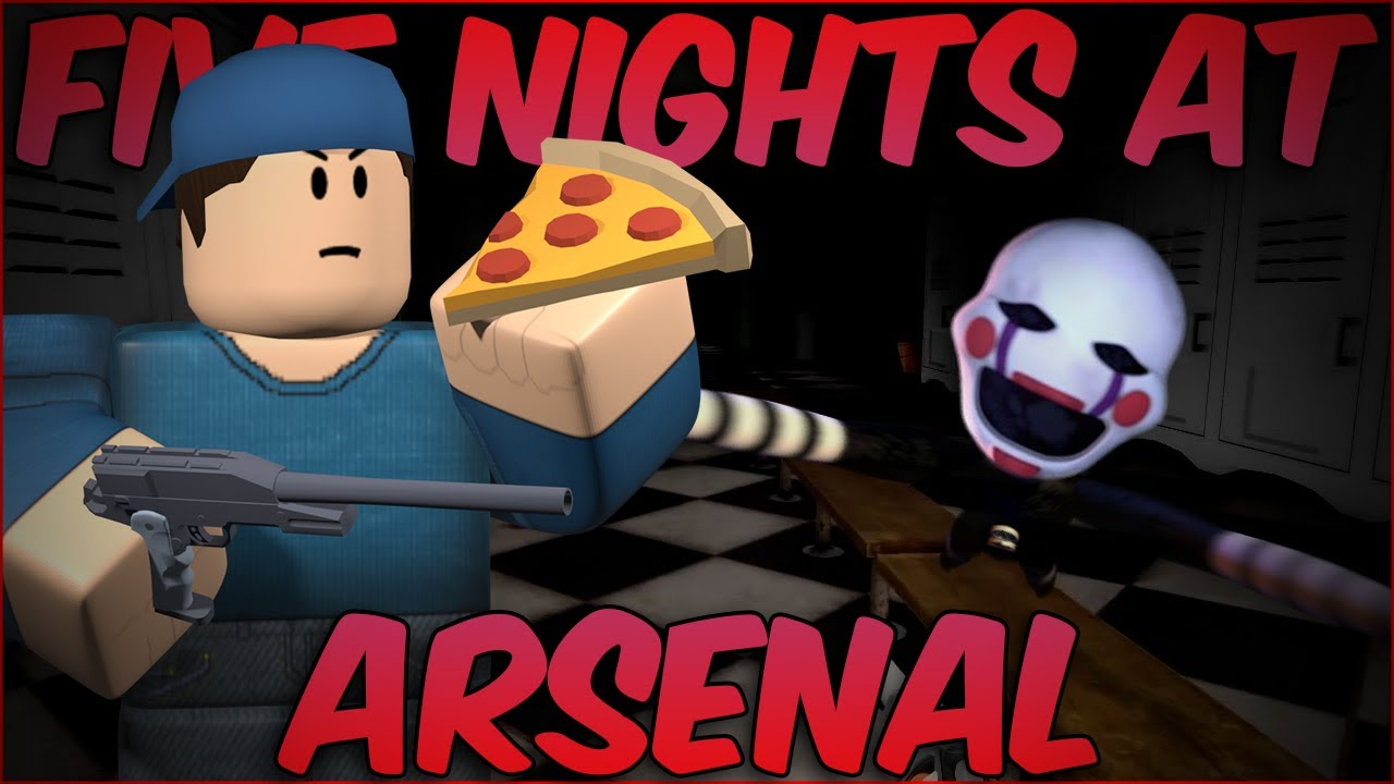 NEW Arsenal FNAF Event Roblox How to/Easy Version YouTube