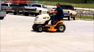 2005 cub cadet lt1046 lawn mower for sale   sold at auction july 1 2015