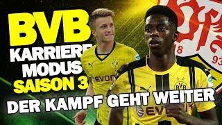 DER KAMPF GEHT WEITER! Bundesliga Gegen VfB Stuttgart ♕ FIFA 17 Karrieremodus BVB S3 #46