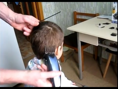 Как самому постричь ребенка