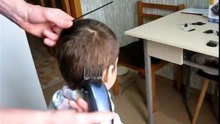 Как самому постричь ребенка(Если в доме имеется электрическая машинка для стрижки волос, то можно самому стричь детей. Простую стрижку..., 2015-03-05T19:08:02.000Z)