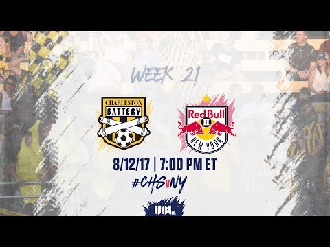 USL LIVE - Charleston Battery vs New York Red Bulls II 8/12/17
