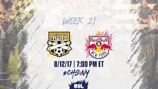 Charleston Battery vs New York Red Bulls USL full match