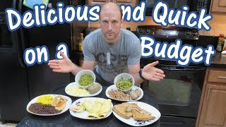 Delicious and Quick on a Budget | 5 Inexpensive Meals | Ep. 1