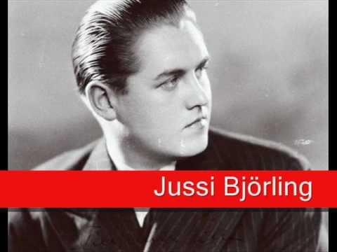 Jussi Björling: Massenet - Manon, 'En Fermant Les Yeux' (Le Rêve)