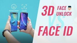 3D Face Unlock của Huawei có tốt hơn Face ID của Apple?