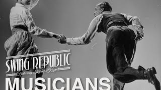 Swing Republic - Musicians ( Official Lyric Video ) Electro Swing promo 2017