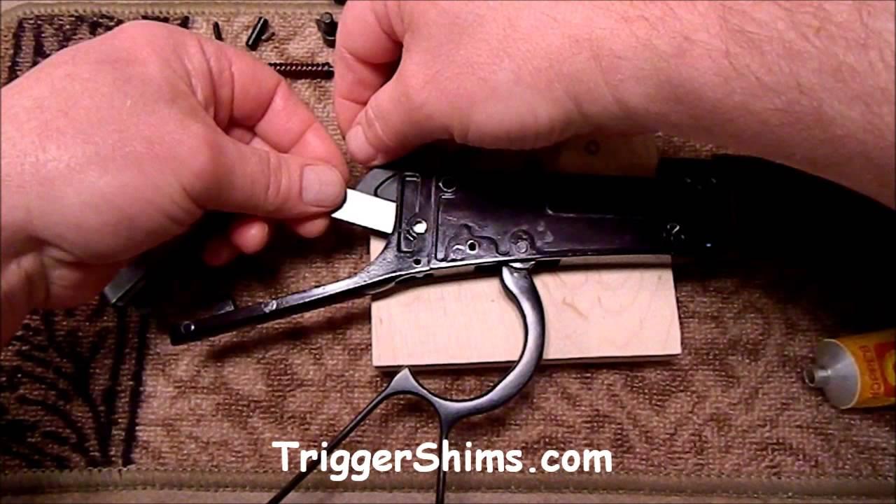 Henry Lever Rifle Shim Kit Installation