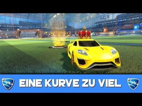 EINE Kurve zu viel genommen... 🚀 Rocket League German Gameplay thumbnail