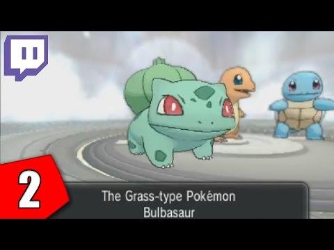 Twitch: Pokemon X Blind - Part 2