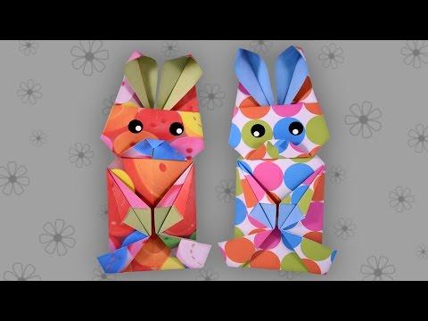 origami-osterhase-(leicht):-easter-bunny---faltanleitung-(live-erklärt)