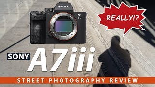Sony A7iii Street Photography Review - Lives Up To The Hype?
