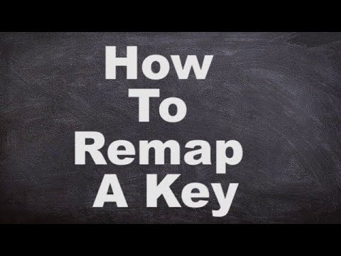 How To Remap A Key (Assign a Function to a Different Key on Keyboard)