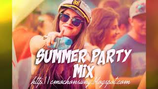 Megamix Los mejores Temazos Dance y House 🎉 (Summer Party Mix) Mixed by CMochonsuny