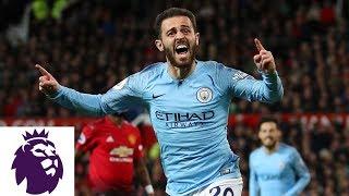 Man City's Bernardo Silva delivers strike to take lead over Man United | NBC Sports