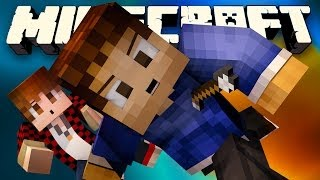 BATTLE IN THE SKY! (Minecraft EPIC Battle Parkour with Mitch, Rob, and Preston!)