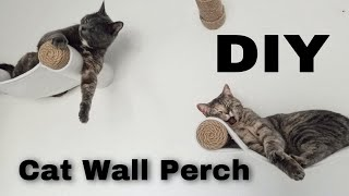DIY Cat Wall Perch/Hammock/Shelf | Easy Step by Step Tutorial