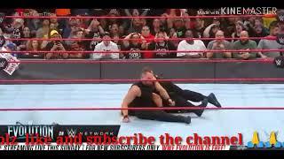 Monday night raw Dean Ambrose attacks on Seth Rollins shocking moments