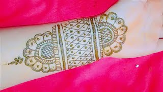 मेहंदी डिजाइन नई || new henna design 2020_2021 || front hand mehndi design || RCcreativeuttrakhandy