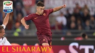 Il gol di El Shaarawy - Roma - Palermo - 4-1 - Giornata 9 - Serie A TIM 2016/17