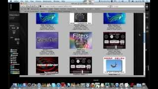 How to add  effects in virtual DJ(Mac)