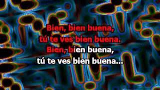 Te Ves Bien Buena (con letra) - El General (Karaoke)