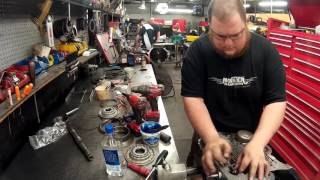 TH400 Monster Transmission Build Time Lapse