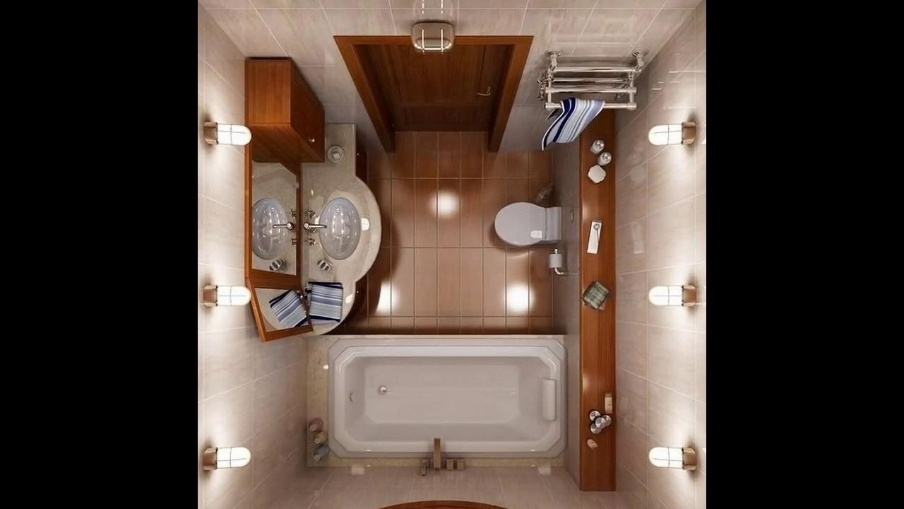 Ideas de cuarto de baño pequeño espacio - YouTube