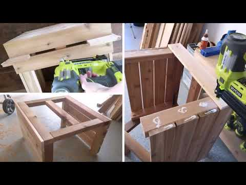 Diy Wooden Patio Benches