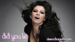 Alessandra - Did You Lie (AUDIO HQ)