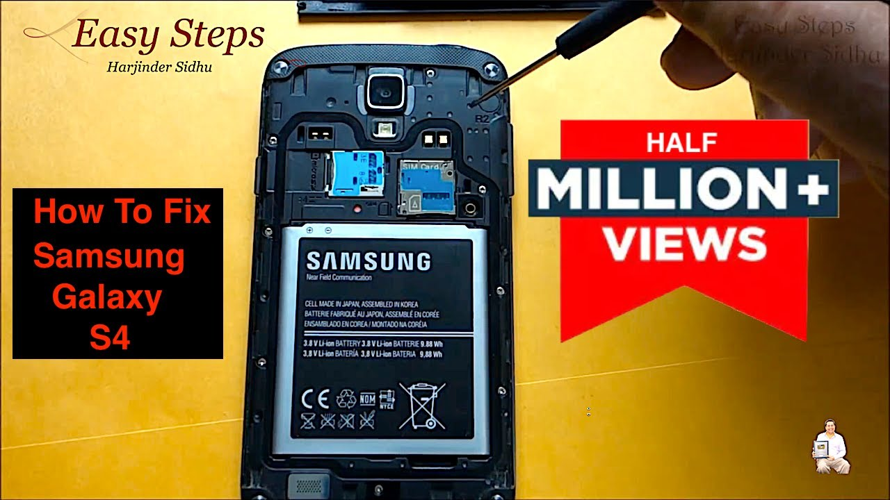 How To Fix Black Screen Galaxy S4 Active Android Philips Part A17f6mpw001 Circuit Board Assembly Oem Mpw Unresponsive Youtube