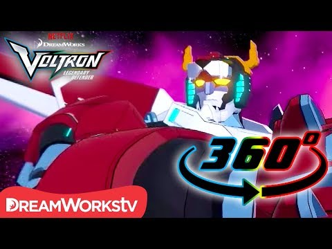Form Voltron! [360 VIDEO] | DREAMWORKS VOLTRON LEGENDARY DEFENDER