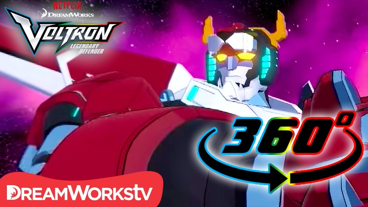 Form Voltron! [360 VIDEO] | DREAMWORKS VOLTRON LEGENDARY DEFENDER ...