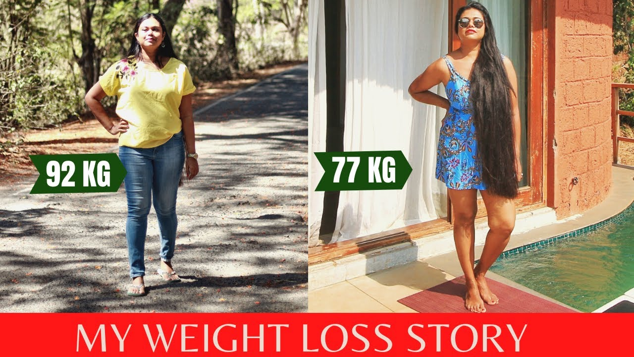 My Weight Loss Journey   How I Did It With Right Diet without Gym   Akiva Health Shots