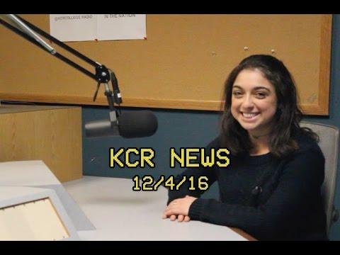 KCR College Radio News - 12/4/16