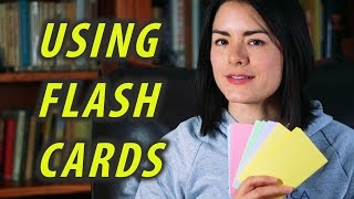 How to use Flash Cards | How to Study | Flashcards Study Tips