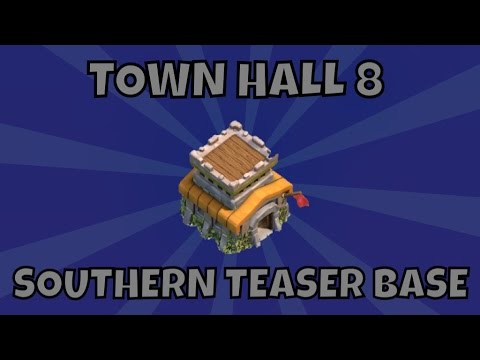 Best town hall 8 southern teaser base 4 mortars 2015 youtube