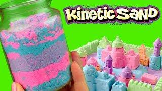 Piasek kinetyczny • Kolorowy słoik • kreatywne zabawy