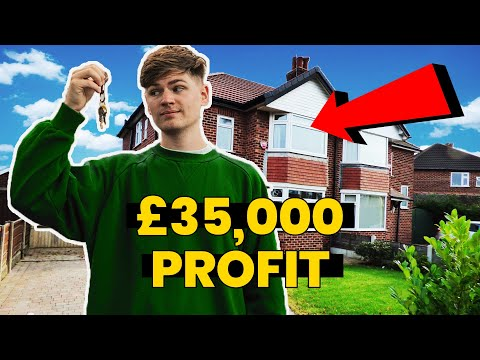 Buying My First House To Flip - Property Deal | UK Property Investing VLOG