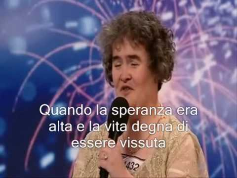 La performance di Susan Boyle in