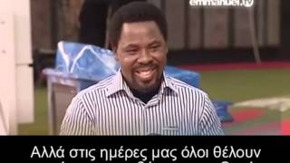 your love for christ T B  Joshua