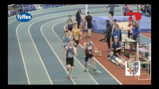 IUAA 800m finish - Spiderman attack