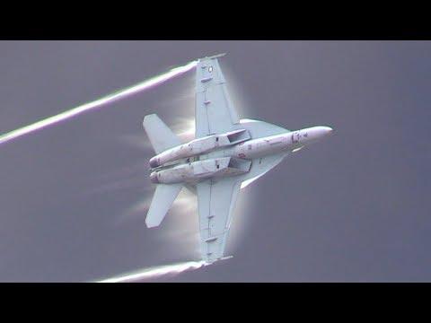 F/A-18F Super Hornet Demo NAS Oceana Air Show 2017