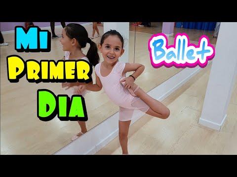 MI PRIMER DIA DE CLASE DE BAILE BALLET - HAUL DE BAILE -
